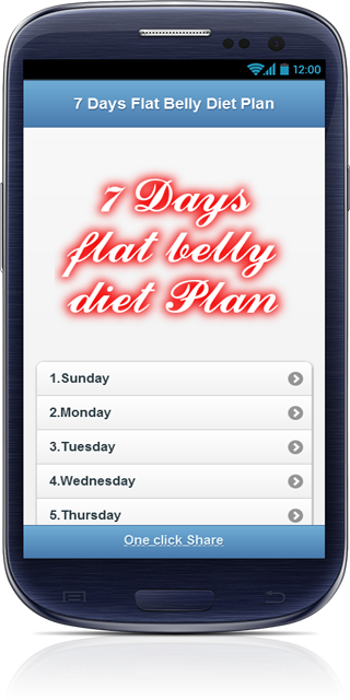 Belly Fat Burning Diet plan - screenshot