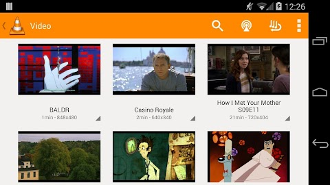 VLC for Android beta Screenshot 4