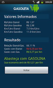 Gasoleta - Gasolina ou Etanol? - screenshot thumbnail