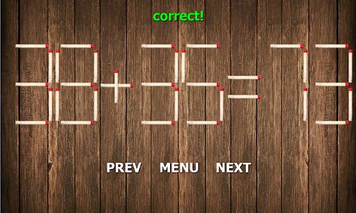 Matchstick Math