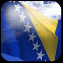 3D Bosnia Flag + icon