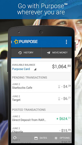 Purpose Card Mobile Banking