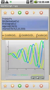 MathScript Scientific Calc- screenshot thumbnail