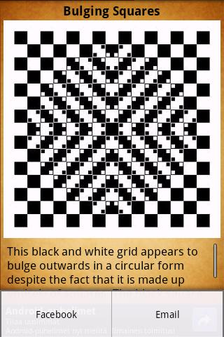 Optical Illusions- screenshot