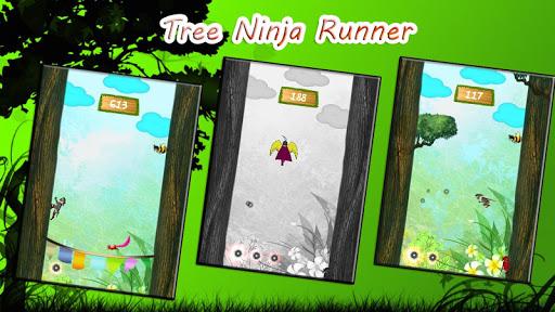 Tree Run Ninja Run