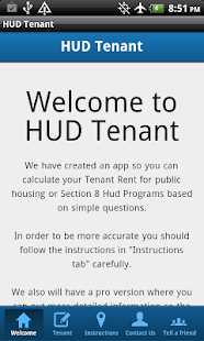 HUD Tenant- screenshot thumbnail