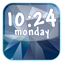Galaxy S5 Digital Clock LWP icon