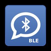 BLE CHAT 아두이노 블루투스 채팅, IOT 지원