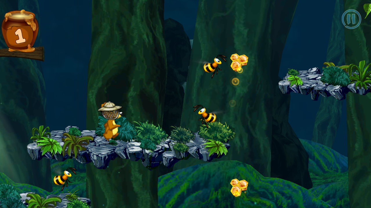 Honey Run F2P- screenshot