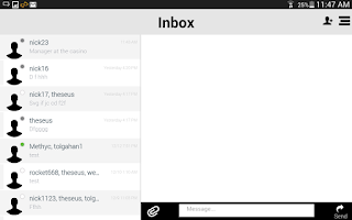 Screenshot of Clear Messenger