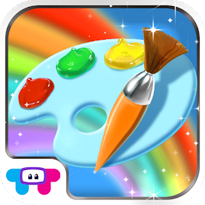 Paint sparkles coloring book android apps on google play for App to paint on pictures