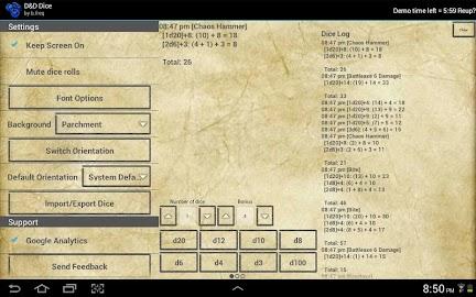 D&D Dice by b.freq Screenshot 7