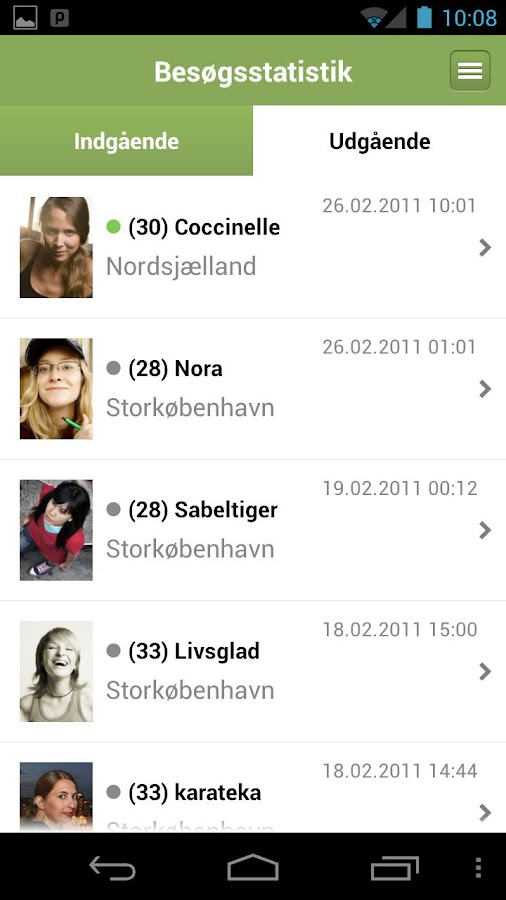 Elitedaters.dk- screenshot