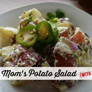 Mom's Potato Salad With a Kick