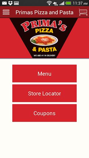 Primas Pizza and Pasta