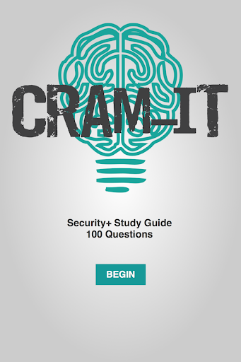 CRAM-IT Security+ Study Guide
