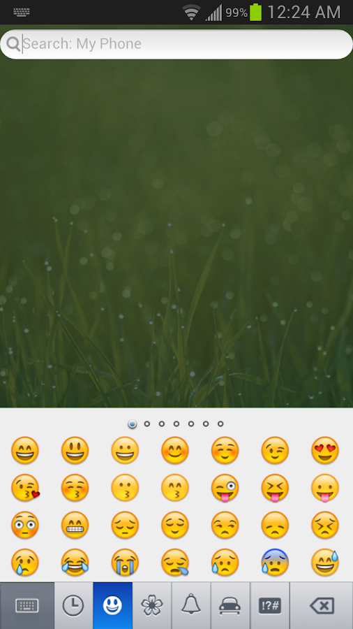 Barley Emoji Keyboard - screenshot