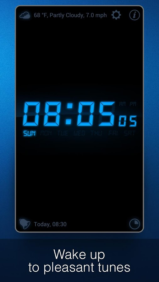 how to add choice in iphone alarm calender