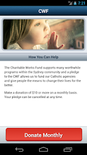 Charitable Works Fund- screenshot thumbnail