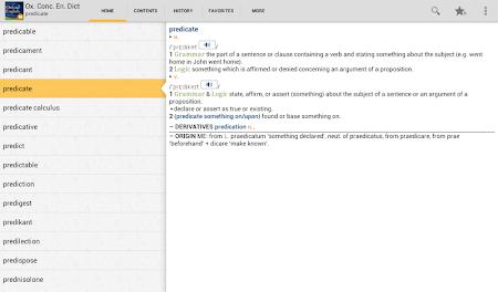 Concise Oxford English TR 4.3.136 screenshot 75440