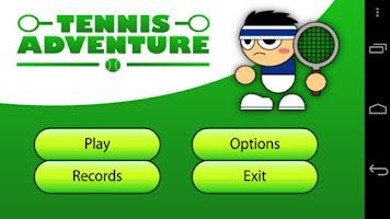 Screenshot of Tennis Adventure