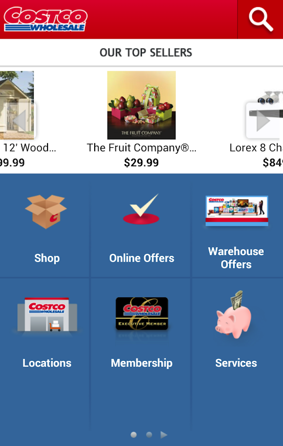 Costco wholesale us android apps on google play