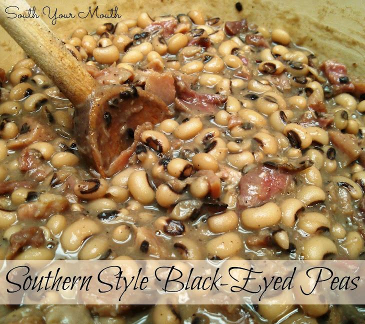 Southern Style Black-Eyed Peas Recipe