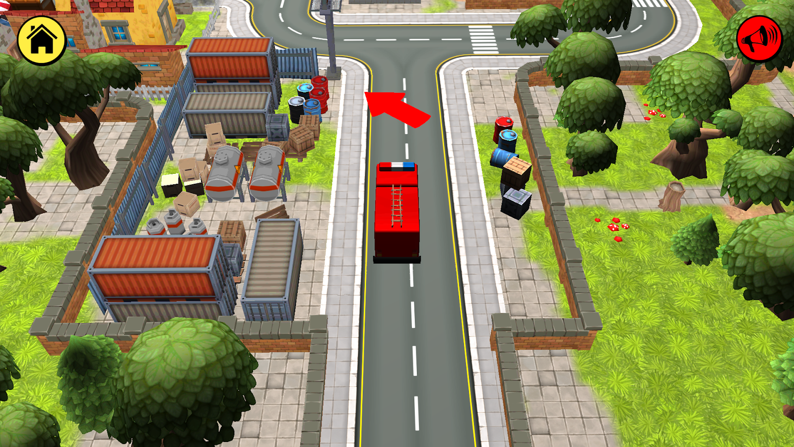 kidlo fire fighter free 3d rescue game for kids android apps