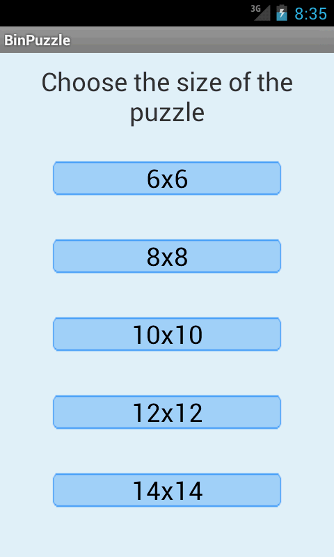 Binary Puzzle Solver Lite - screenshot