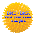 BMI + BMR diet calculator icon