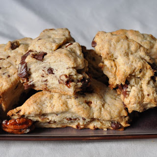 5-Spice Scones with Chocolate and Spiced Pecans