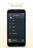Screenshot of Personal Radio by AUPEO!