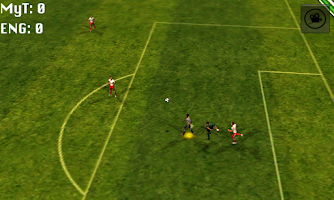 Screenshot of my team world soccer games cup