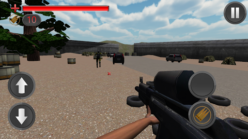 Paintball Shooting Fight 3D