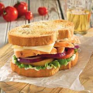 Chicken Tuscan Sandwich.