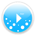 Poweramp skin MellowBlue icon