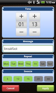 Smart Alarm Clock Free - screenshot thumbnail