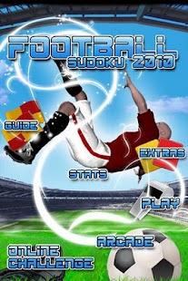 Soccer Sudoku (Lite)- screenshot thumbnail