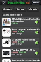 Screenshot of Dagaanbieding NU