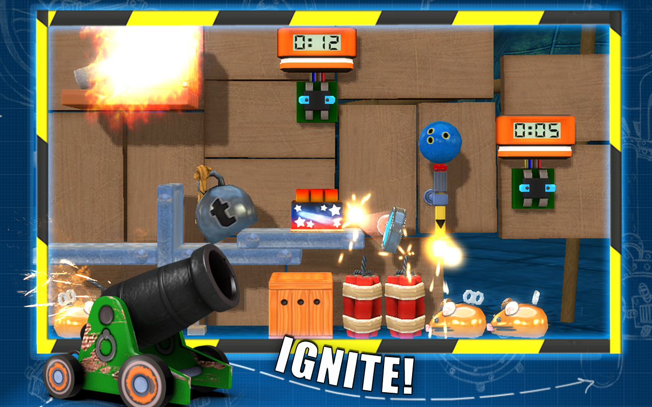 CrazyMachines GoldenGears Lite- screenshot