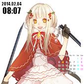 Moe live wallpaper calendar