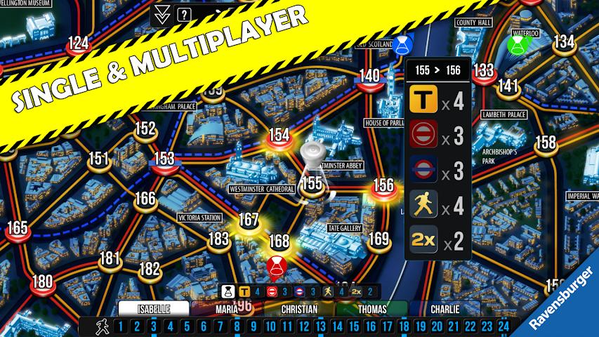 android Scotland Yard Screenshot 9