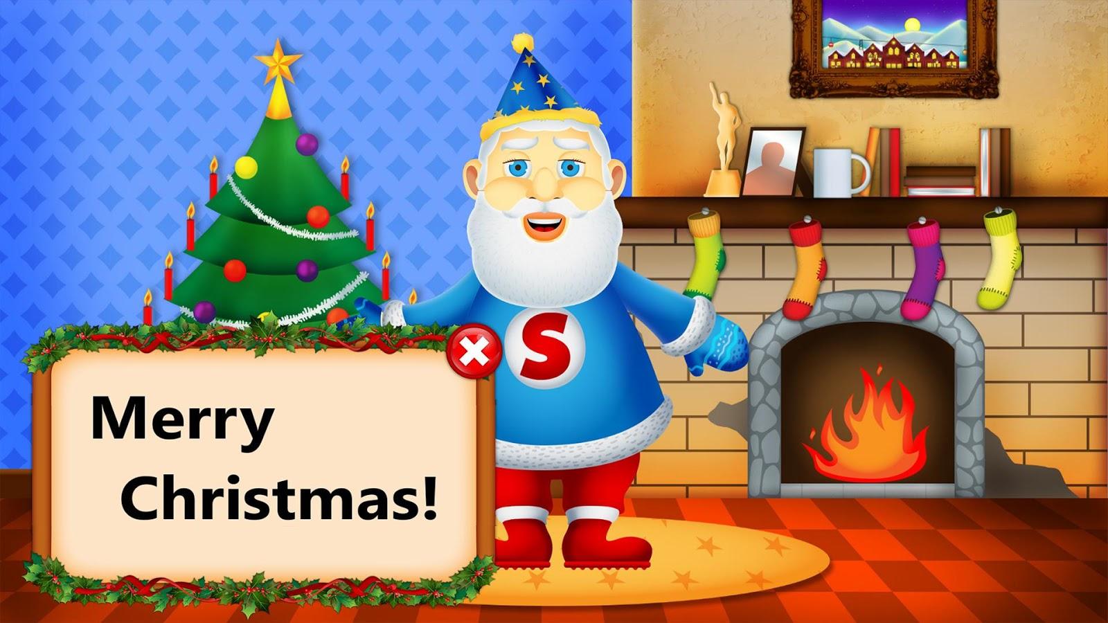 Dress up xmas games - Santa Dress Up Christmas Games Screenshot