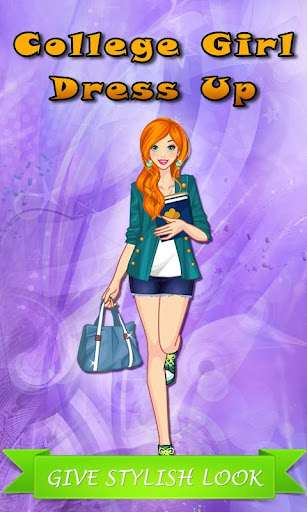 College Girl: Dress Up Game
