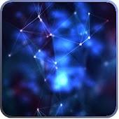 Galaxy Blue Fire