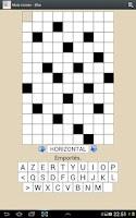 Screenshot of French Crosswords Free