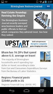 Birmingham Business Journal- screenshot thumbnail