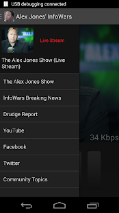 Alex Jones' InfoWars - screenshot thumbnail