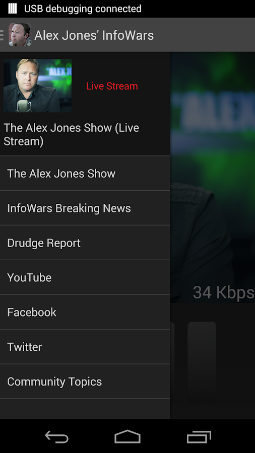Alex Jones' InfoWars - screenshot