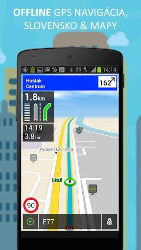 Zlaté Mapy - offline navigácia